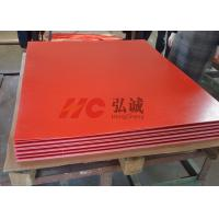 Quality Flame Resistant Red Laminate Sheet High - Flexural And High - Impact Strength for sale