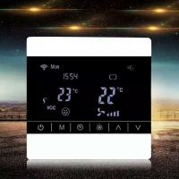 Screen Touch LCD Fan Coil Unit Thermostat Ceiling Mount Energy Saving for sale