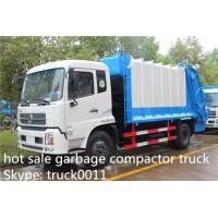 Buy Dongfeng 4X2 10tons Compress Garbage/Refuse Compactor Truck, 210hp at wholesale prices