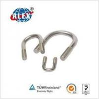 Quality DIN 3570 Stainless Steel Steel U Bolt Zinc Plated Free Sample for sale