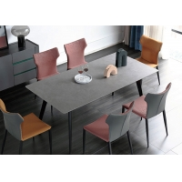 China Restaurant Dining Room Set With 1 Dining Table And 6 Dining Chair on sale