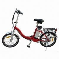 China Lightweight Folding Electric Bike with 6061 Aluminum Alloy Frame and Rust-resistant Chain on sale