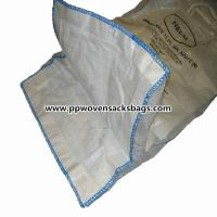 """Quality Industrial Solid PP Container Ton Bag / FIBC Jumbo Bags 37"""" x 37"""" x 47"""" or Customized for sale"""