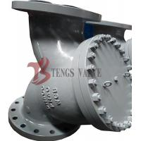 Quality Industrial Y Type Strainer , Din Flanged Y Strainer Cast Steel Pn16 - Pn40 for sale