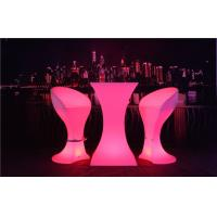 Quality Fireproof LED Sofa Waterproof Rechargeable 4 Flash Modes LED Cocktail Table for sale