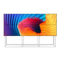 Quality 3x3 2x2 4k Video Wall With Floor Stand Bracket 55'' Low Power Consumption for sale
