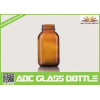 Quality Mytest 120ml Amber Syrup Glass Bottles for sale