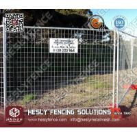 China Temporary Mesh Fence (HeslyFence) on sale