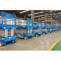 3220KG Self Propelled Scissor Lift Hydraulic Lift Drive For Aerial Construction Work for sale