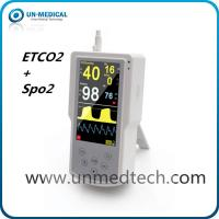 Quality UN-medical handheld ETCO2 monitor with spo2, mainstream/sidestream optional for sale