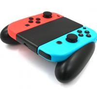 Black Gaming Charging Station / Hand Grip Charger Holder for Nintendo Joy Con Controller