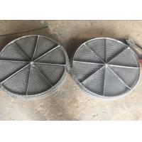 Quality Stainless Steel Mesh / Wire Mesh Demister Light Weight Easy Maintenance for sale