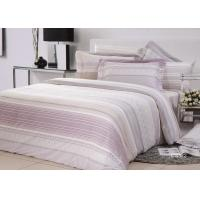 Quality High Yarn Count Elegant Bed Set Floral Twill Cotton With Frilled Pillowcase for sale