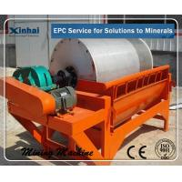 Quality Wet Medium Intensity CT Magnetic Drum Separator , Mining Machinery for sale