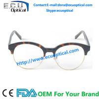Wenzhou Factory Manufacture Cute Round acetate Unisex eyeglasses Frame for sale