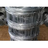 China Galvanized Cattle Wire Fence / Knotted Wire Field Fence For Horse on sale
