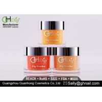 Buy cheap Maintenance Free Powder Fingernail Polish Orange Nail Dip Powder Colors from wholesalers