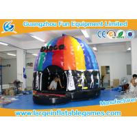 Quality 4mH 5m Dia Musical Inflatable Bouncy Castle Inflatable Dome Disco Jumping Area with CE for sale