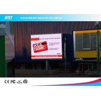 Quality 1/4 scan P10 1R1G1B Outdoor Advertising LED Display For Airport / Hotel  with 160X160mm Module for sale