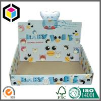 Quality CMYK Full Color Offset Printed Corrugated Display Box; Glossy Display Stand Box for sale