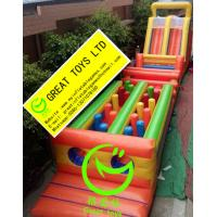 Quality Hot selling  Adult inflatable obstacle course  with 24months warranty GT-OBS-0502 for sale