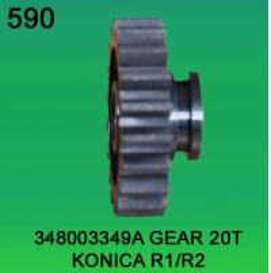 Quality 348003349A / 3480 03349A GEAR TEETH-20 FOR KONICA R1,R2 minilab for sale