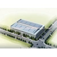 Environmental Prefabricated Steel Warehouse For Construction And Real Estate for sale