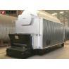 10 Tph Wood Chips Fired Steam Boiler , Wood Pellet Boiler For Paper Process Industry for sale