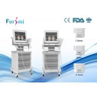 China non invasive neck treatments machine HIFU-f  machine face firming treatment on sale