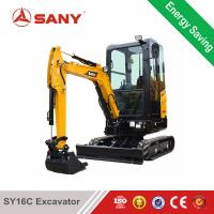 China SANY SY16C 1.6ton China Sany Mini Excavator Mini Digger Machine for Sale on sale