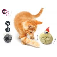 Quality Electronic Auto Motion Bouncing Battery Operated Pet Toys With Plush Cover for sale