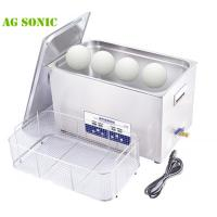 Quality 30 Liters Ultrasonic Golf Club Cleaner With SUS Stainless Steel Basket And Lid for sale
