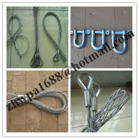 Quality Double-head, single strand Cable grip,Cable socks,Pulling grip,Support grip for sale