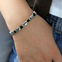Buy cheap 2016 Fitness Jewelry 316L Stainless Steel Germanium Bracelet Designed For Couple,stainless steel bracelet from wholesalers
