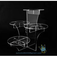 Quality CD (20) crystal cake stand for sale