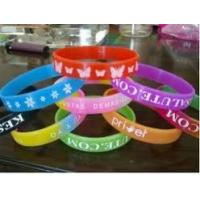 China Power Balance Custom Silicone Bracelet With Pantone Colors For Anti Radiation on sale