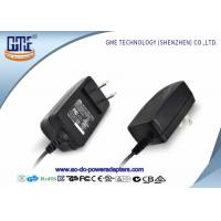 Quality CEC Level VI US Plug 12V 1A Switching Power Adapter with UL Certificate for sale