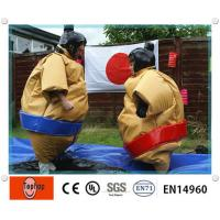 Inflatable sumo wrestling suits for kids