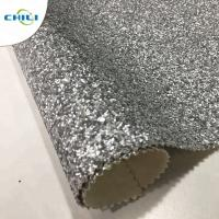 Quality Non Woven Glitter Wall Fabric , Chunky Glitter Wallpaper Decorative Application for sale