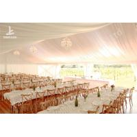 Buy cheap White Lining Adored Aluminum Framed Wedding Reception Tents, Wedding Marquee from wholesalers