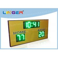 Quality Regular Function LED Electronic Scoreboard For University 900mm*1500mm*90mm for sale