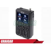 Quality WS -6908 3.5 Inch DVB - S FTA Satellite Signal Meter 950mhz - 2150mhz for sale