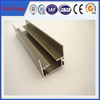 Quality supply aluminum channel extrusion anodized, 6063 aluminum extrusion profiles for stair for sale