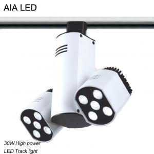 Quality 3 Lines RA90 indoor adjustable 30W LED Track light/LED Spot light for sale
