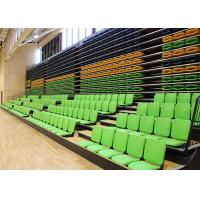 Buy cheap Melody Polymer Telescopic Tribunes Retractable Seating EN1320-5 For Sport Place from wholesalers