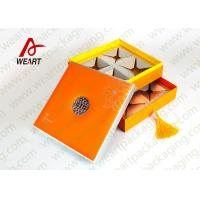 Quality Two Layered Individual Recycled Paper Gift Box With Magnets UV Varnish Suface for sale