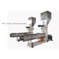 Quality custom PVC Single Screw Extruder neader Hot Cutting Pelletizing System for sale