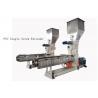 Buy cheap custom PVC Single Screw Extruder neader Hot Cutting Pelletizing System from wholesalers