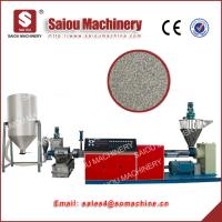 Quality granulated polyethylene plastic granulators waste plastic recycling machine for sale