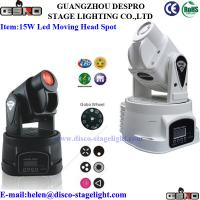 Quality led moving head spot 15W for sale